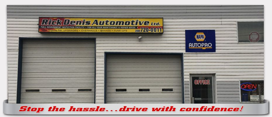 Stop the hassle...drive with confidence!